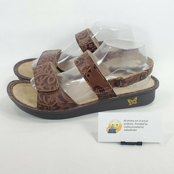 Alegria Verona Leather Casual Sandal